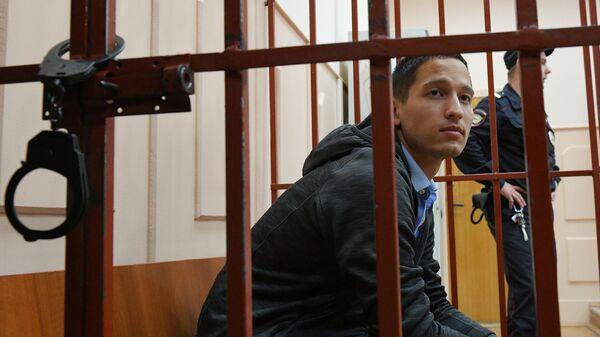 Айдар Губайдуллин на заседании Басманного суда города Москвы