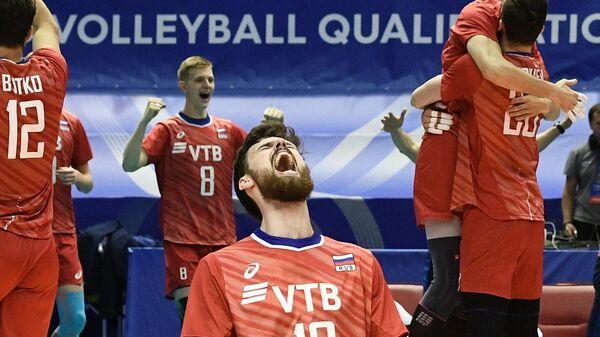 Игрок сборной России Егор Клюка