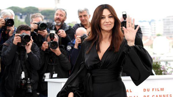 Итальянская актриса Моника Белуччи на Каннском международном кинофестивале