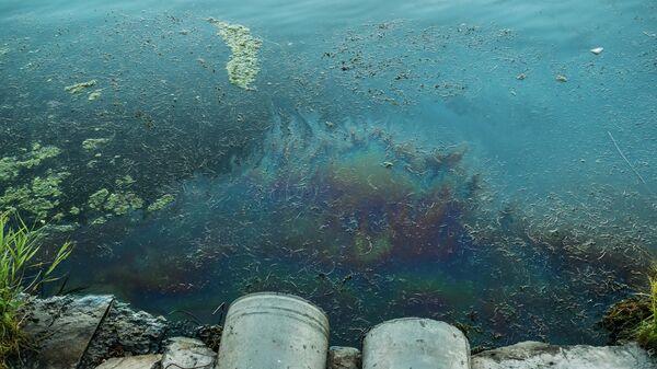 В Новгородской области сообщили об утечке мазута в реку