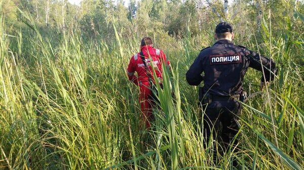 Поиски трехлетнего мальчика в Омской области
