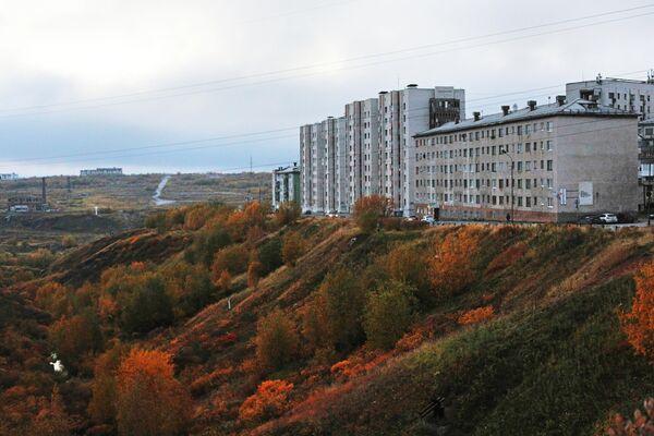 Регионы России. Воркута