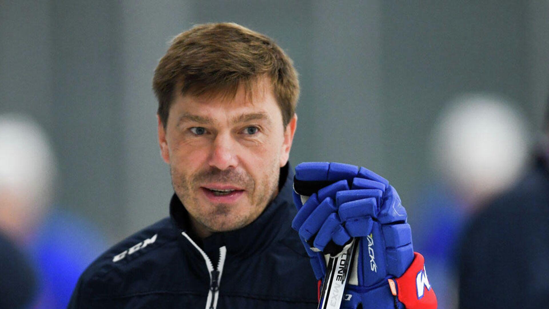 Главный тренер СКА Алексей Кудашов - РИА Новости, 1920, 13.04.2021
