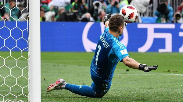 ФИФА вспомнила легендарный сейв Акинфеева в матче против Испании