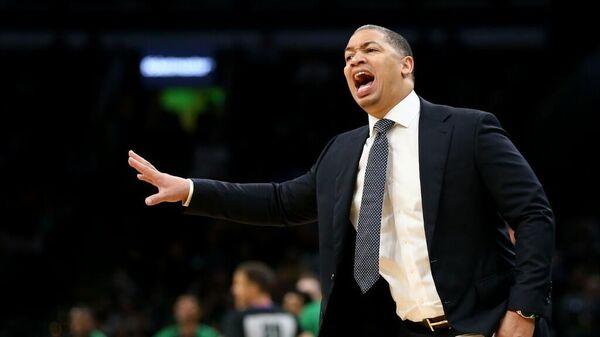 Главный тренер клуба НБА Кливленд Кавальерс Тайрон Лью