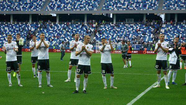 Футболисты московского Торпедо