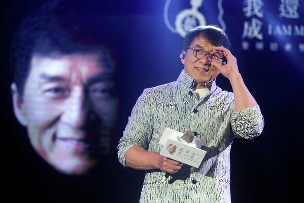 Гонконгский актер Джеки Чан