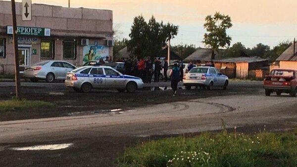 Полиция в селе Подгорное