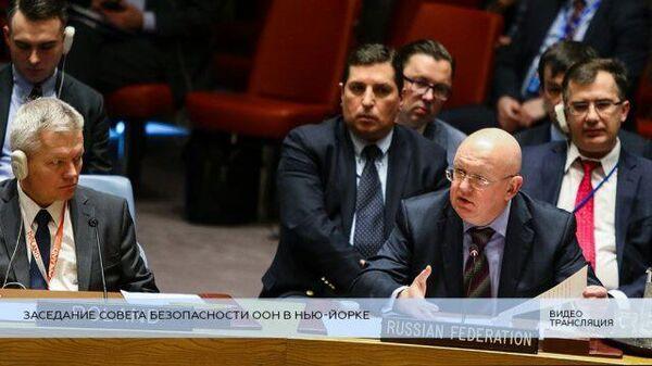 LIVE: Заседание Совбеза ООН по американским ракетам средней дальности