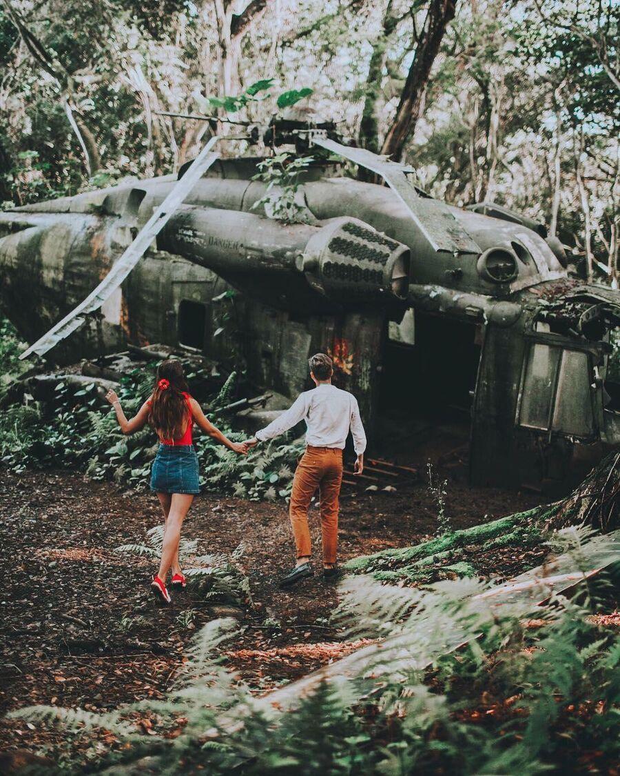 Ранчо Куалоа на Гавайях