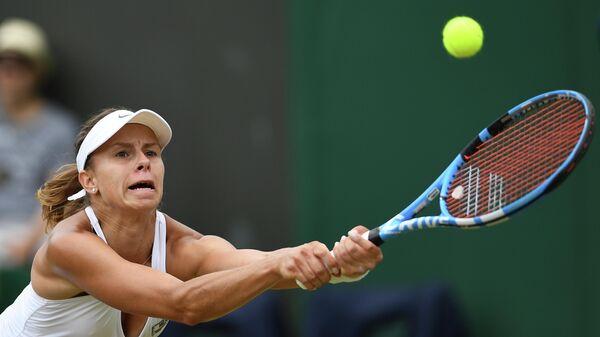 Теннисистка Магда Линетт (Польша)