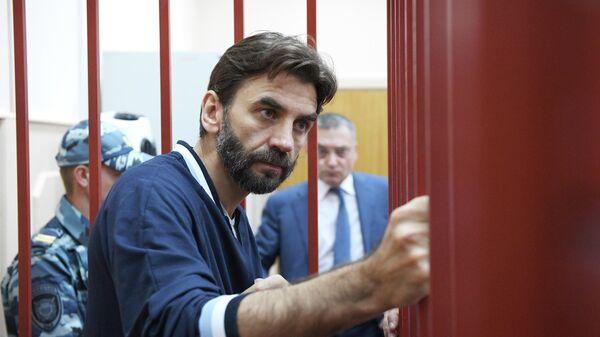 Бывший министр РФ по связям с Открытым правительством Михаил Абызов в Басманном суде