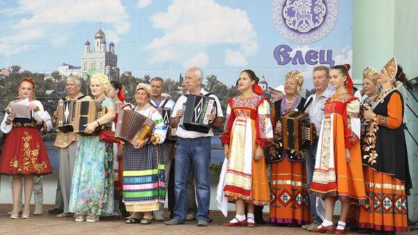 Фестиваль-конкурс народного творчества Играй, гармонь елецкая!