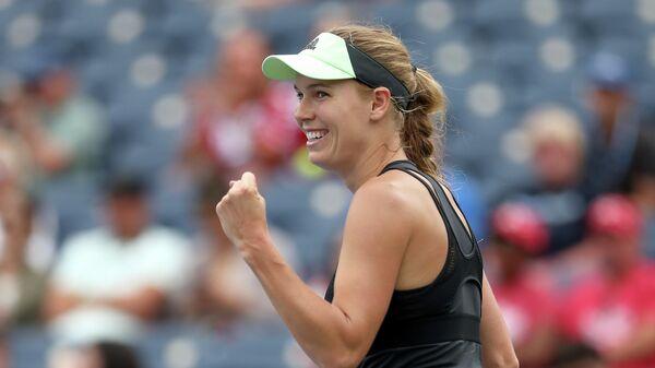 Теннисистка Каролина Возняцки (Дания)
