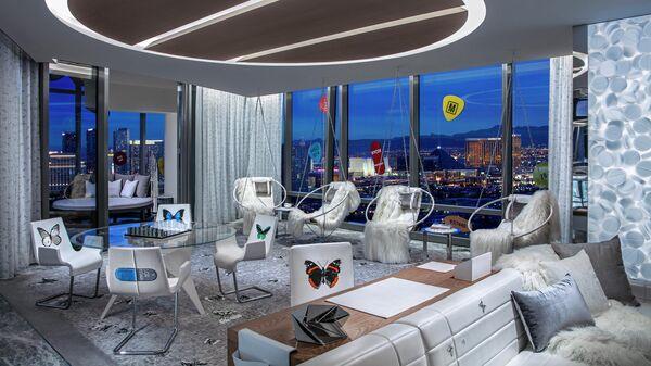 Гостиничный номер Эмпатия гостиницы Palms Casino Resort, Лас-Вегас
