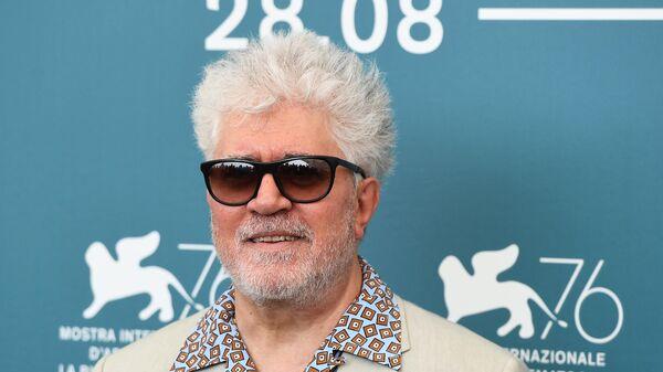 Режиссер Педро Альмодовар на 76-м Венецианском кинофестивале
