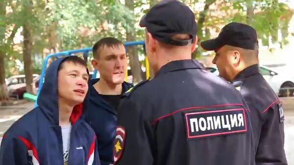Стоп-кадр видео МВД России по Челябинской области
