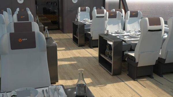 Проекты новейших пассажирских электросудов