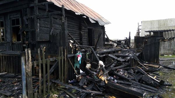 Пожар в частном доме Ардатово Дубенского района Республики Мордовия. 30 августа 2019