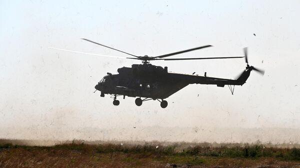 Названа возможная причина жесткой посадки вертолета Ми-8 в ЯНАО