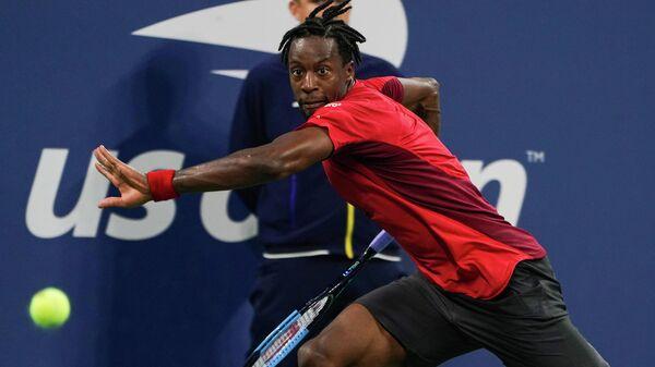 Теннисист Гаэль Монфис (Франция)