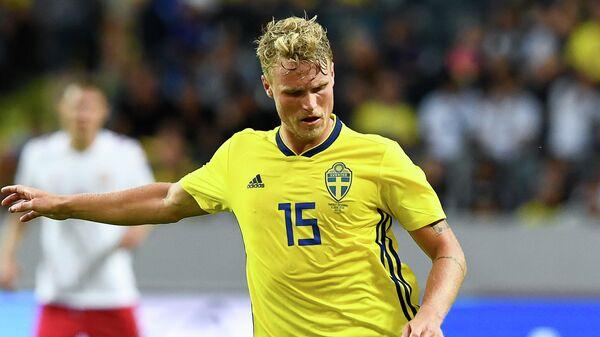 Полузащитник сборной Швеции Оскар Хильемарк