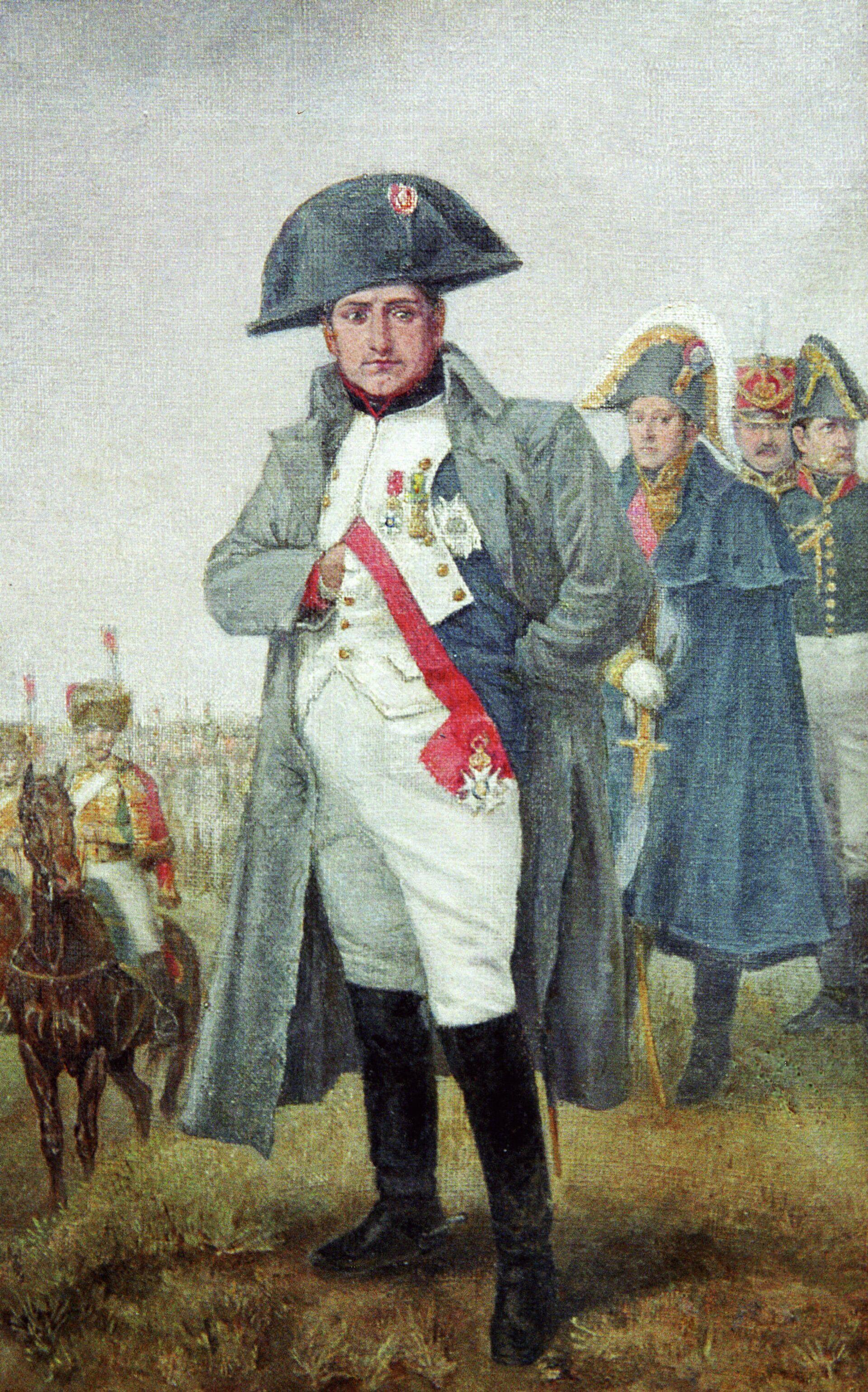 Репродукция портрета Наполеона, написанного неизвестным художником в конце XIX века - РИА Новости, 1920, 30.05.2021