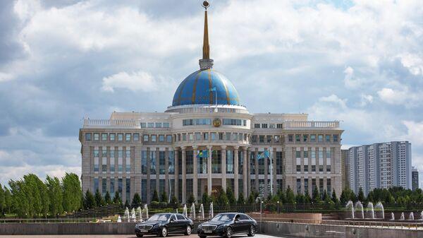 Здание парламента Казахстана в Нур-Султане.