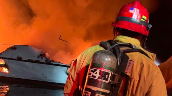 Пожарные в США