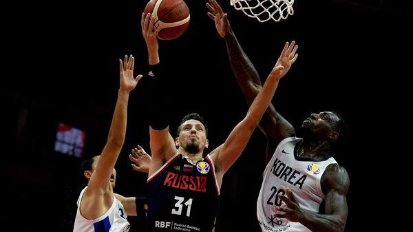 Баскетбол. Чемпионат мира. Мужчины. Матч Республика Корея - Россия