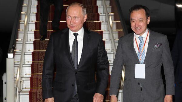 Путин начинает визит в Монголию по случаю юбилея победы на Халхин-Голе