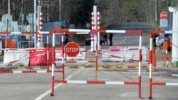 Пункт пропуска Александровка на белорусско-украинской границе