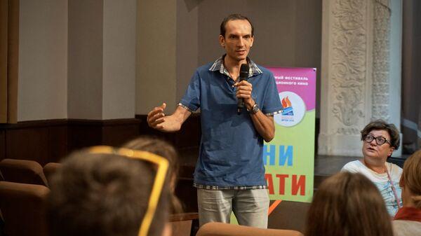 Директор киностудии Союзмультфильм Борис Машковцев