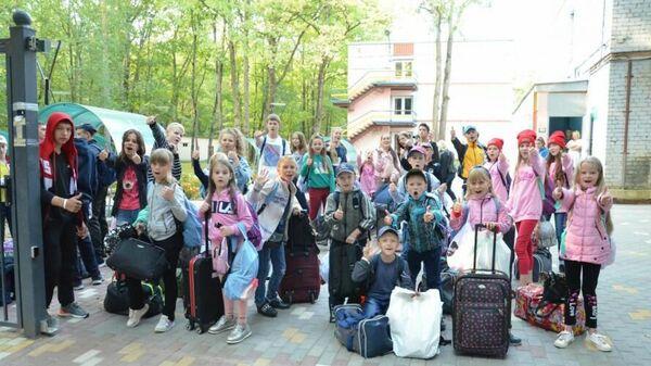 Дети из города Тулун Иркутской области в Калужской области
