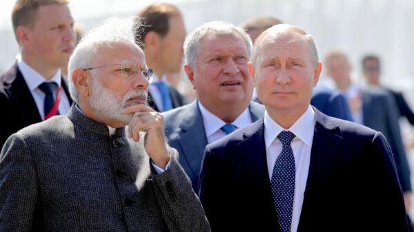 LIVE: Президент РФ Владимир Путин и премьер-министр Индии Нарендра Моди, пресс-конференция