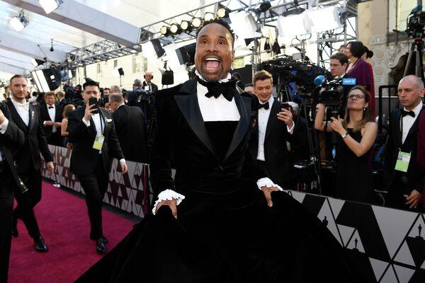 Американский актёр и певец Билли Портер на церемонии вручения премии Academy Awards в Голливуде