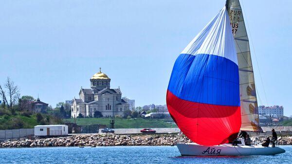 Всероссийская регата Дружба в Севастополе