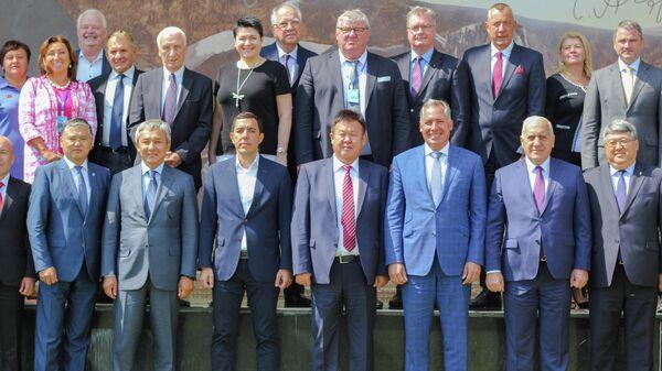 Ежегодный форум НОКов стран СНГ, Балтии и Грузии в Киргизии