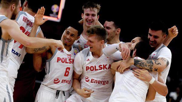 Баскетболисты сборной Польши