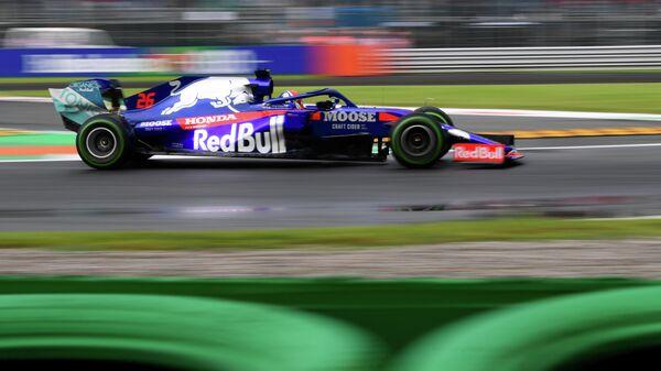 Даниил Квят во время практики Гран-при Италии