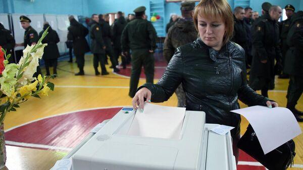 Единый день голосования в регионах России. Чита