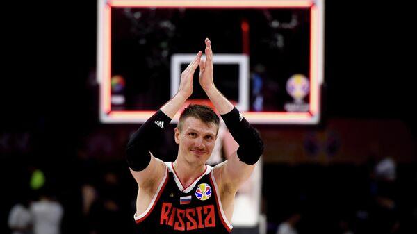 Игрок сборной России по баскетболу Андрей Воронцевич