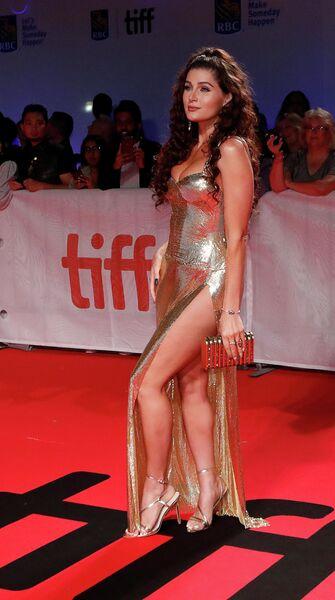 Американская актриса Трейс Лисетт на Международном кинофестивале в Торонто