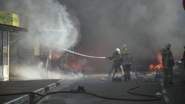 Пожар в Геленджике. 10 сентября 2019