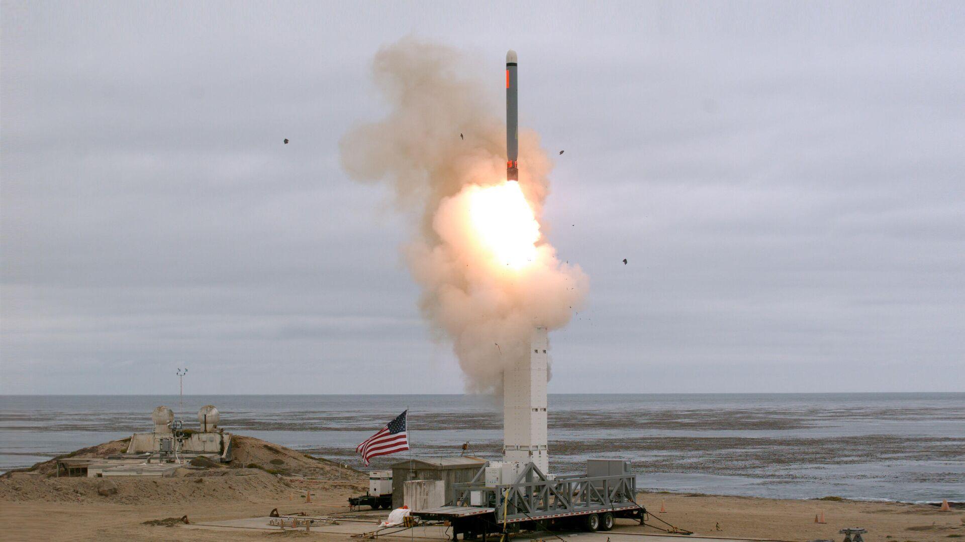 Запуск американской крылатой ракеты - РИА Новости, 1920, 19.09.2020