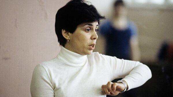 Советская фигуристка, трехкратная олимпийская чемпионка, старший тренер спортивного общества Динамо Ирина Роднина.