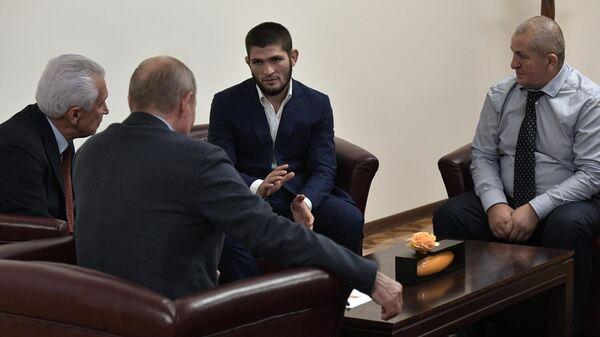 Рабочая поездка президента РФ В. Путина в Дагестан