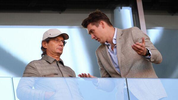 Председатель совета директоров ФК Спартак Леонид Федун и генеральный директор клуба Томас Цорн (справа)