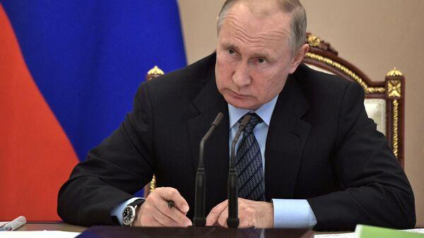 LIVE: Владимир Путин проводит совещание по паводку на Дальнем Востоке