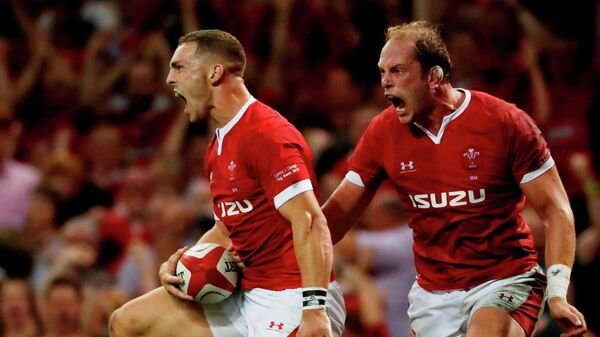 Регбисты сборной Уэльса